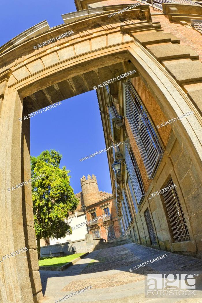 Imagen: Puerta del Azebuche, Azebuche Door, Zafra, Badajoz, Extremadura, Spain, Europe.