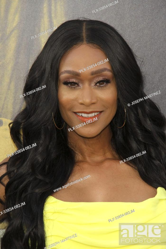 """Stock Photo: Tami Roman at Warner Bros. Pictures' """"""""The Kitchen"""""""" Premiere held at the TCL Chinese Theatre, Los Angeles, CA, August 5, 2019."""