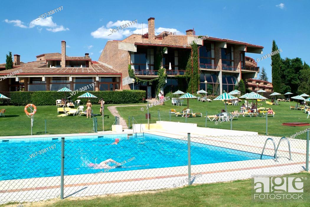 Stock Photo: Segovia city, Parador de Turismo. Castilla y Leon, Spain.