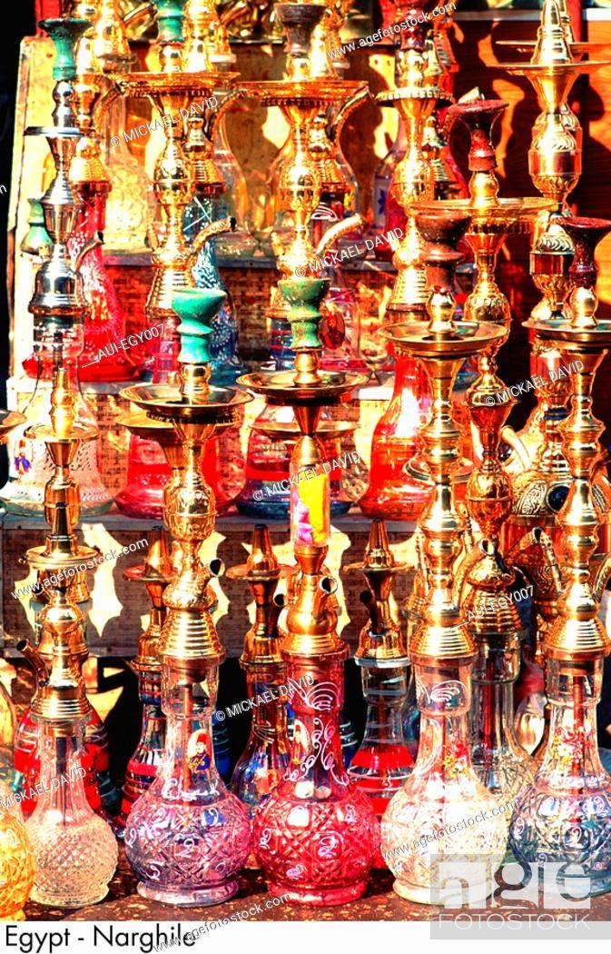 Stock Photo: Egypt - Nargileh.