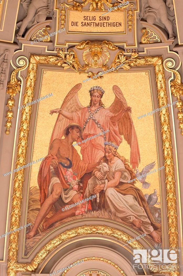 Stock Photo: Mosaik in der Kuppel.
