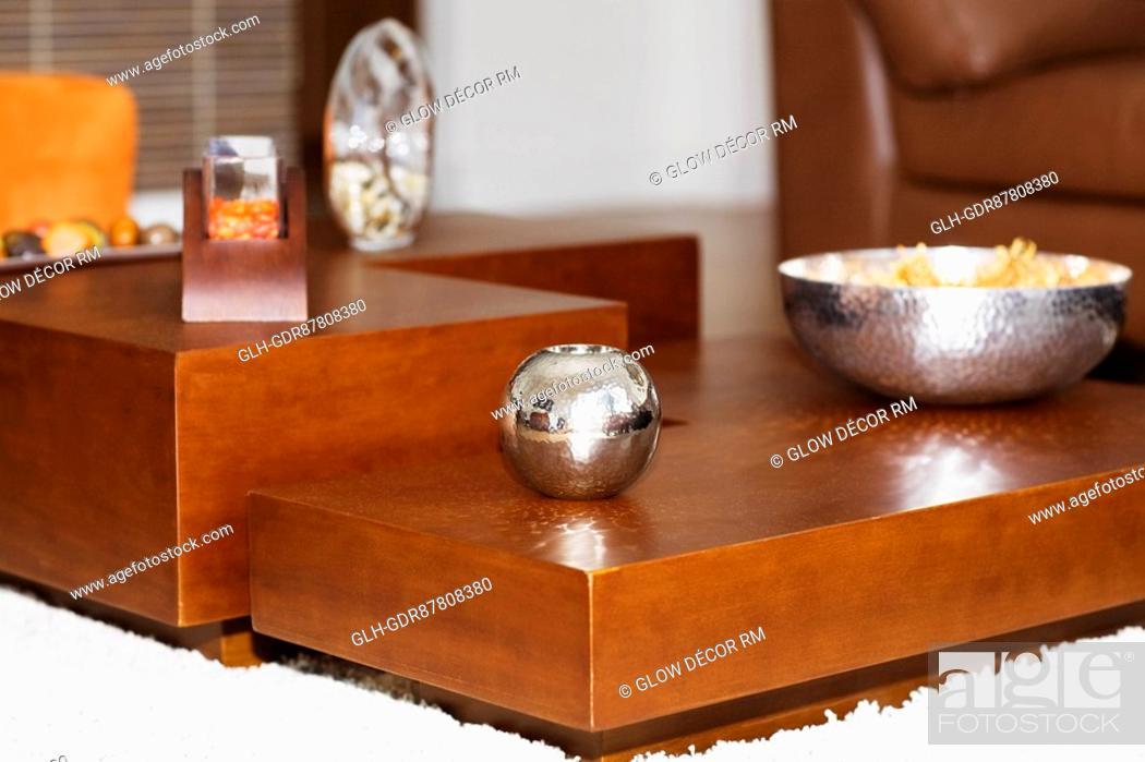 Photo de stock: Showpieces on a table.
