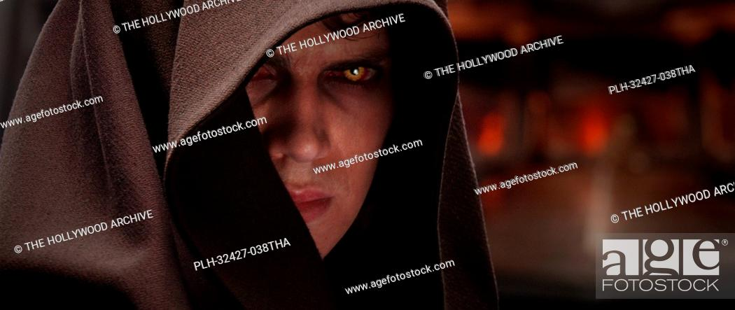Stock Photo: Hayden Christensen plays Anakin Skywalker, who is drawn to the dark side of the Force in Star Wars: Episode III Revenge of the Sith.
