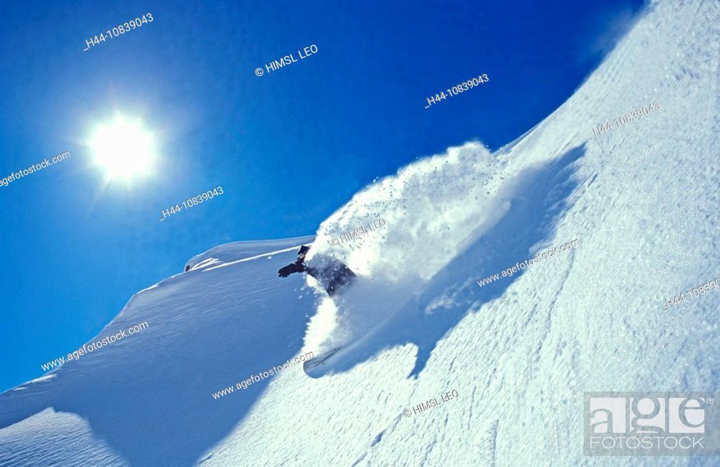 Austria Europe Snowboard Snowboarding Snowboarder