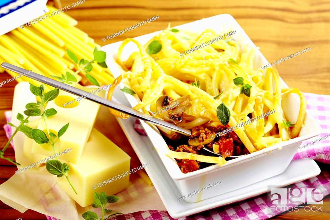 maccaroni bake stock photo picture and rights managed image pic