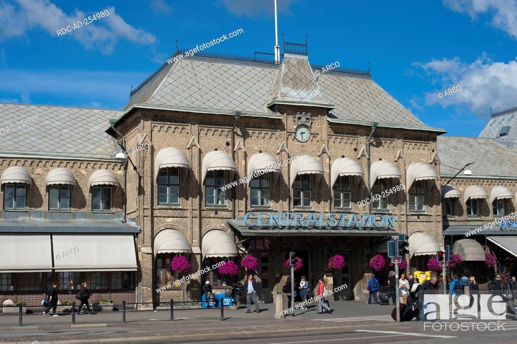 Central Station Gothenburg Vastra Gotaland County Sweden Goteborg Vastra Gotalands Lan Djurgarden Stock Photo Picture And Rights Managed Image Pic Rdc Ad 254980 Agefotostock