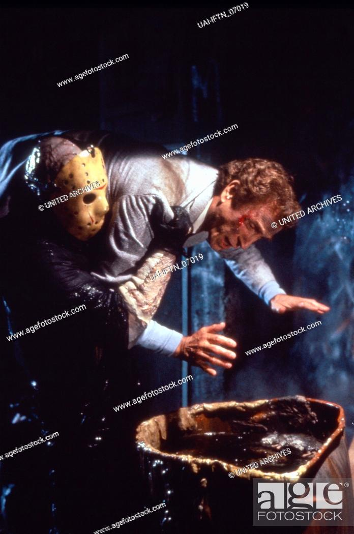 Friday The 13th Part Viii Jason Takes Manhattan Aka Freitag Der 13 Teil 8 Todesfalle Manhattan Stock Photo Picture And Rights Managed Image Pic Uai Iftn 07019 Agefotostock