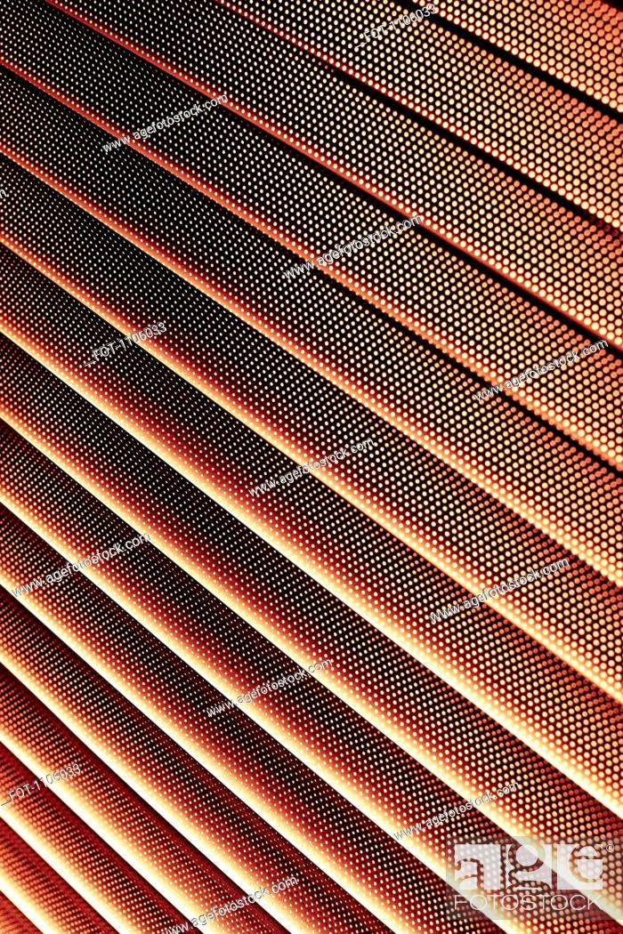 Stock Photo: Close-up of abstract lined pattern.