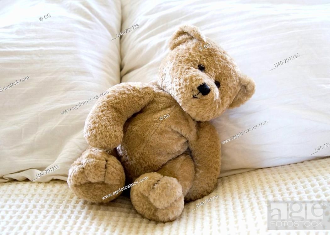 Stock Photo: Teddy bear.