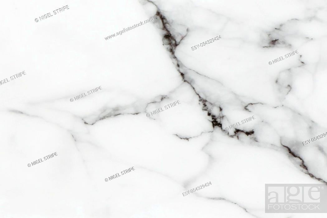 Stock Photo: A White and black marble background.