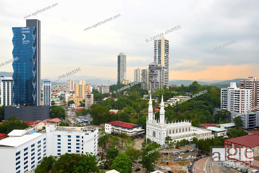 Imagen: Panama City, Republic of Panama, Central America.