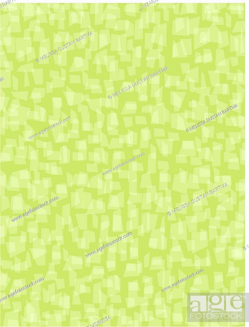 Stock Photo: Green decorative background illustration.