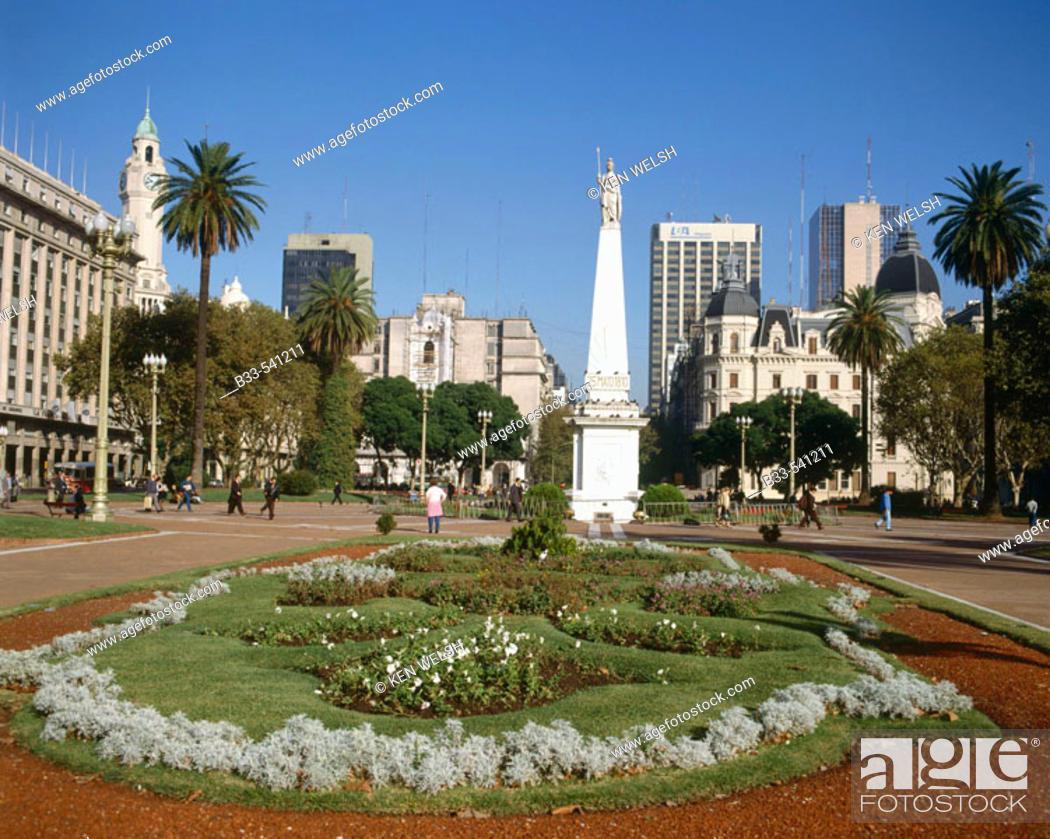 Stock Photo: Plaza de Mayo. Buenos Aires, Argentina.