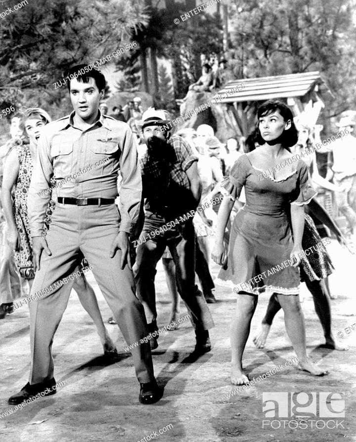 Stock Photo: RELEASED: Mar 6, 1964 - Original Film Title: Kissin' Cousins. PICTURED: ELVIS PRESLEY, YVONNE CRAIG. (Credit Image: © Entertainment Pictures/Entertainment.