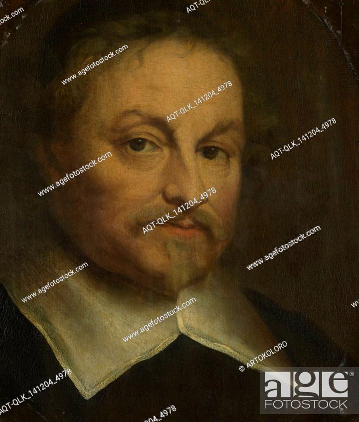 Portrait Of The Poet Joost Van Den Vondel Govert Flinck