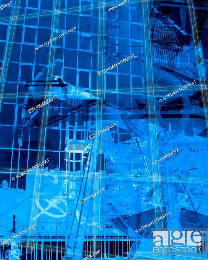 Stock Photo: Grunge background.