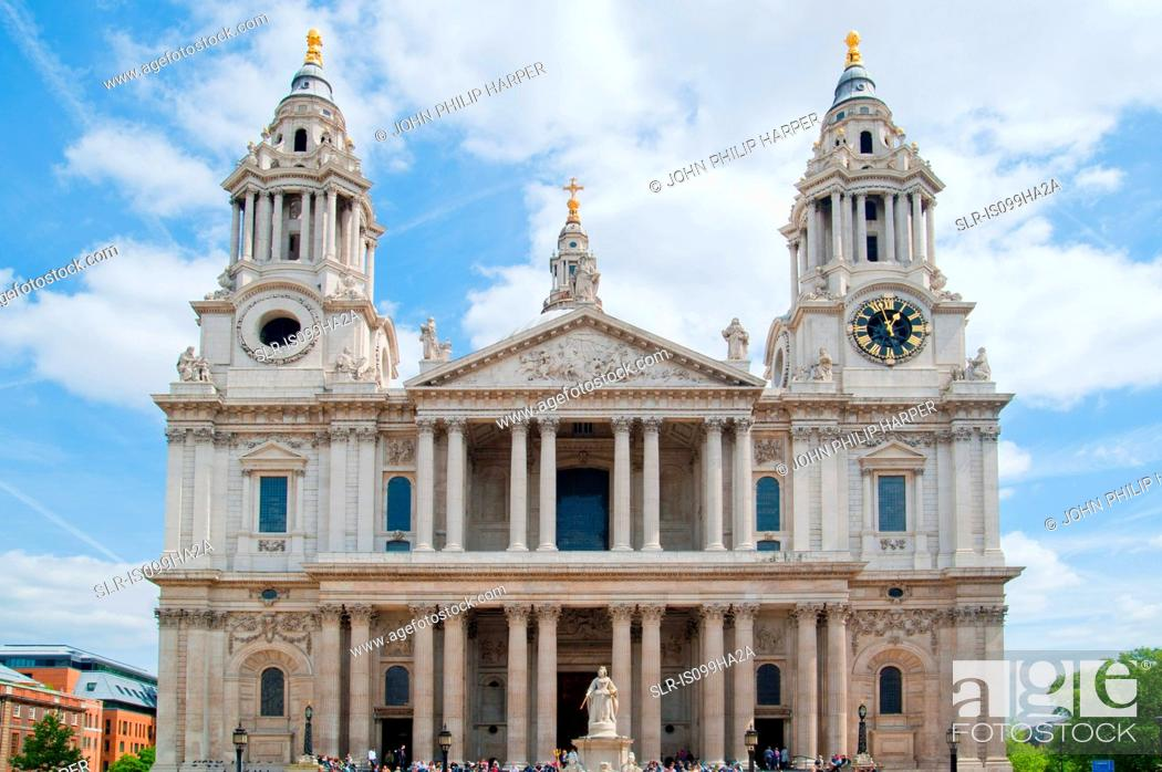 Stock Photo: St. Paul's Cathedral, London.