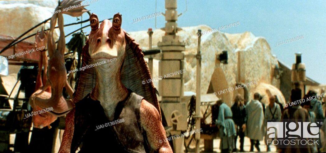 Stock Photo: Star Wars: Episode 1- Die Dunkle Bedrohung, 1990er, 1990s, Film, Star Wars: Episode I The Phantom Menace, Star Wars: Episode 1- Die Dunkle Bedrohung, 1990er.