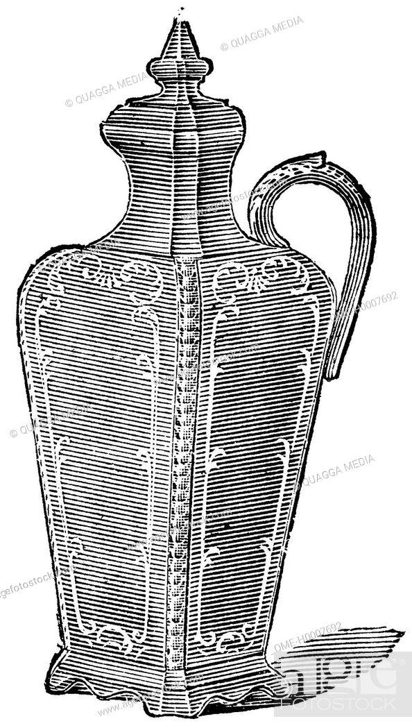 Stock Photo: Vinegar jar.