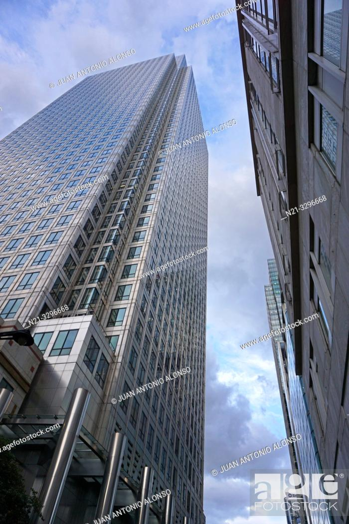 Imagen: One Canada Square Building, Canary Wharf. London, England, Great Britain, Europe.