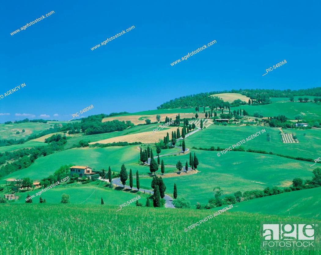 Stock Photo: Tuscany,Italy.