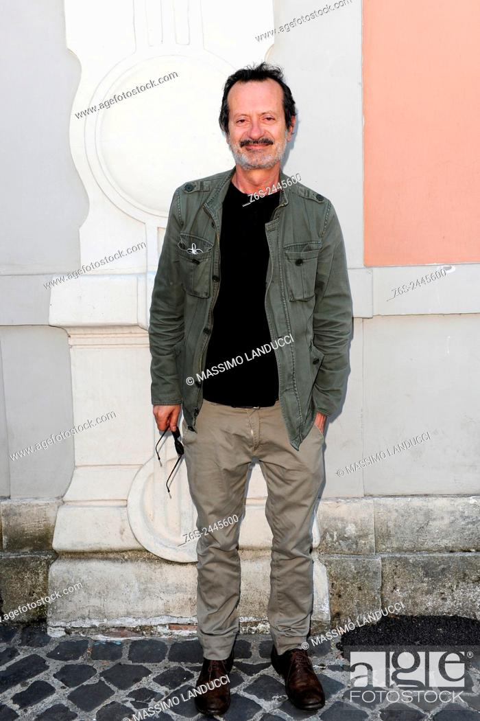 Imagen: Rocco Papaleo; papaleo; actor; celebrities; 2015; rome; italy; event; presentation theater season ; teatro Ambra Jovinelli.