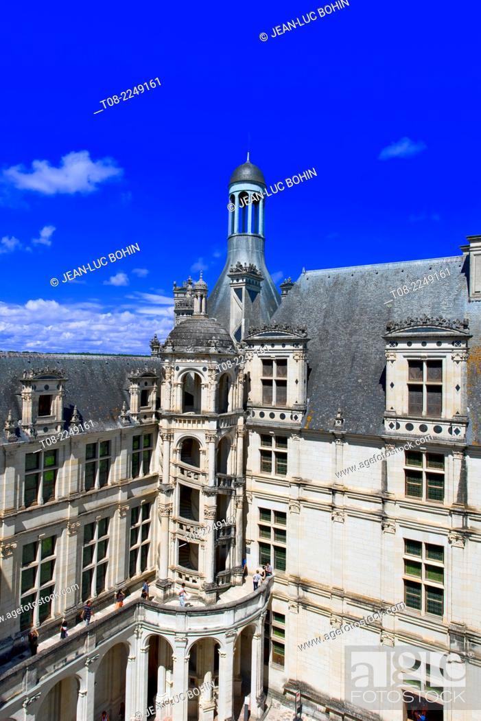 Imagen: france, loire castles : chambord castle.