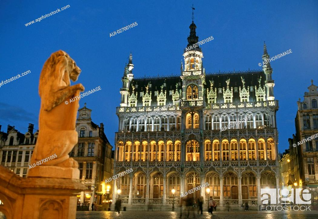 Stock Photo: Belgium - Brussels - The Grand Place.