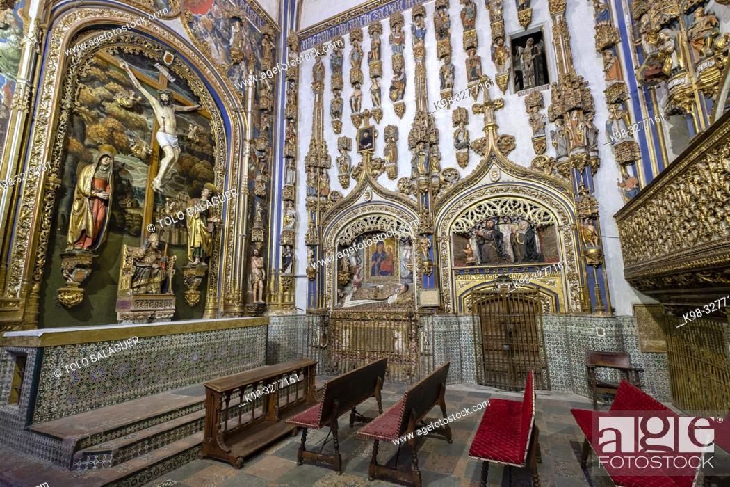 Imagen: capilla dorada, Catedral de la Asunción de la Virgen, Salamanca, comunidad autónoma de Castilla y León, Spain.