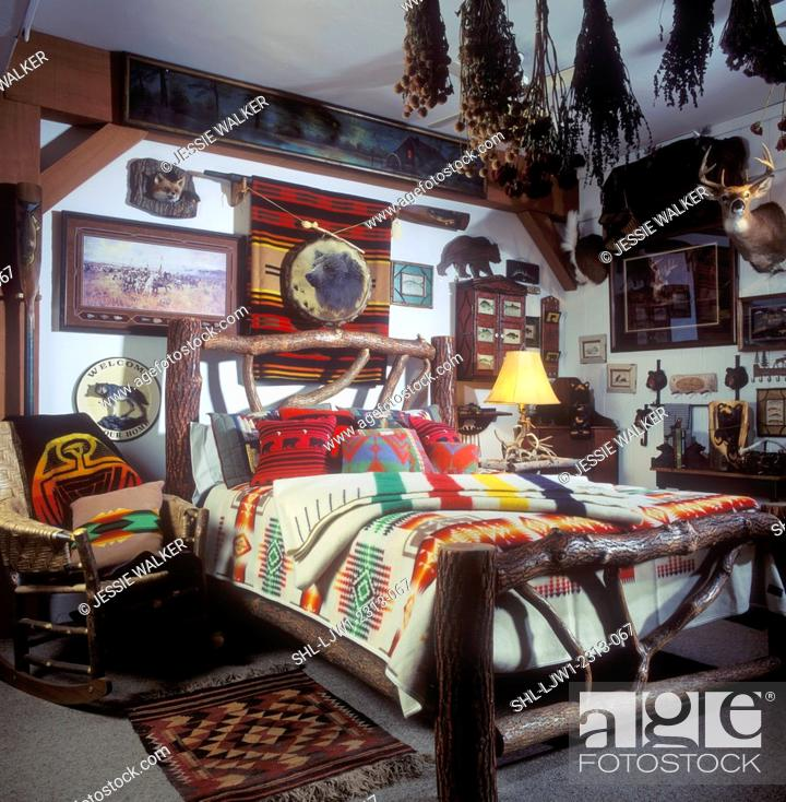 Bedroom Rustic Country With North Woods Style Furniture