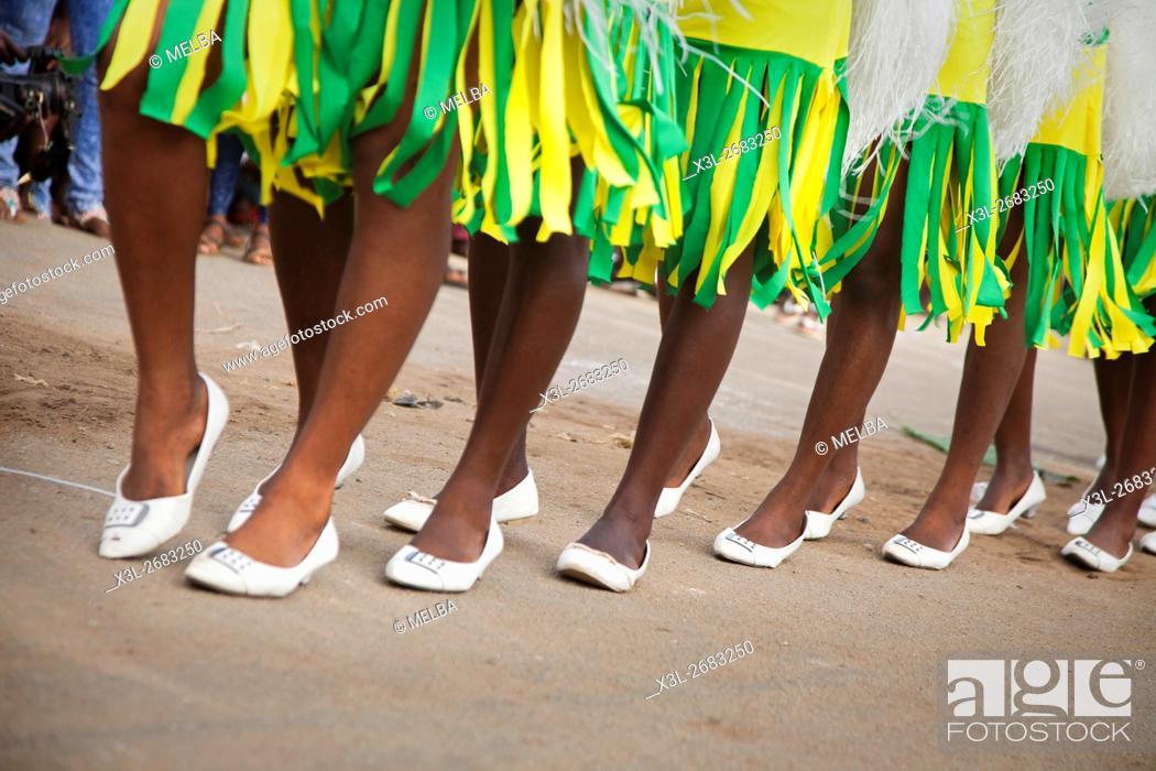 Stock Photo: Bonoua Carnival, Ivory Coast.