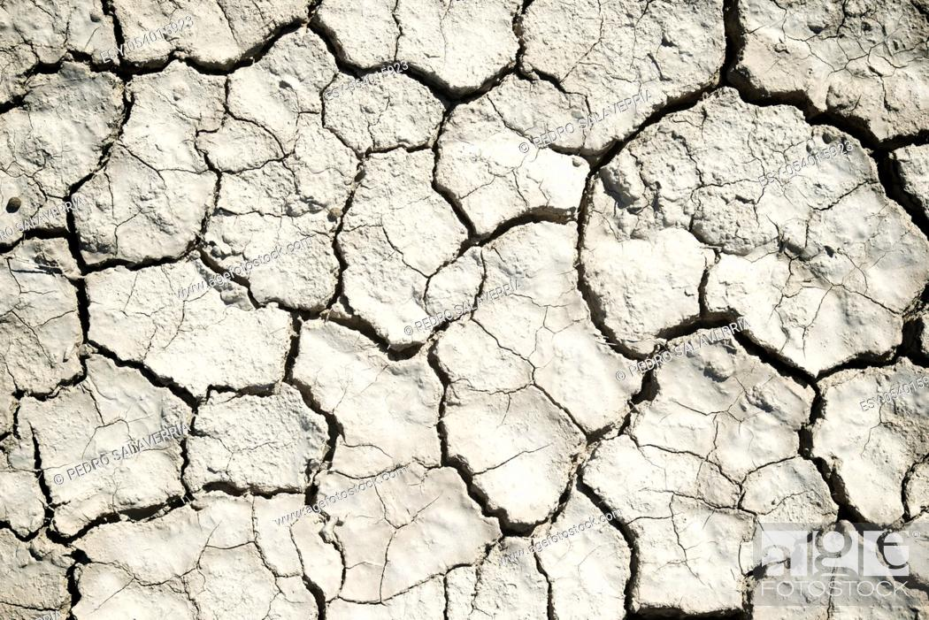 Stock Photo: Background in high resolution created with drought land.