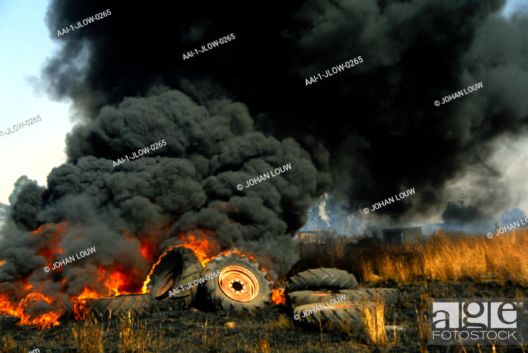 Accident, Heidelberg, South Africa, Stock Photo, Picture And Rights