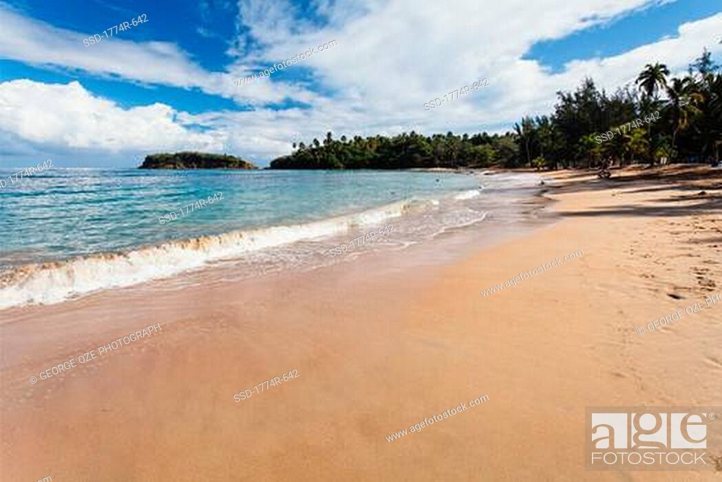 Imagen: Waves on the beach, Cerro Gordo, Vega Alta, Puerto Rico.
