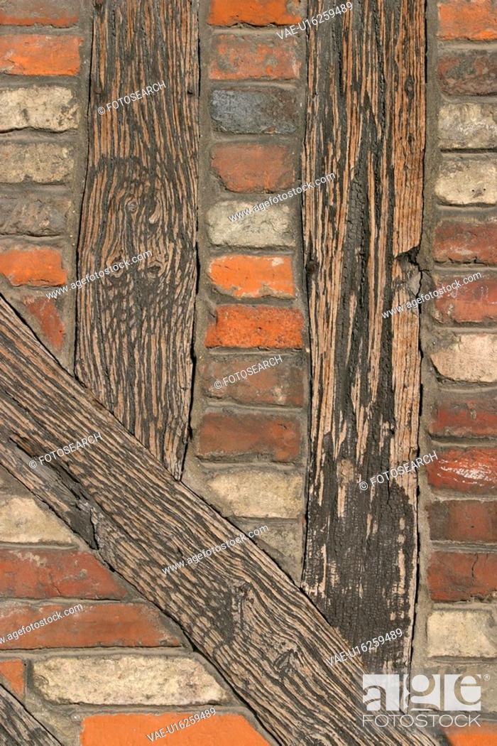 Stock Photo: bricks, tiles, artistic, decorative, feel, form.