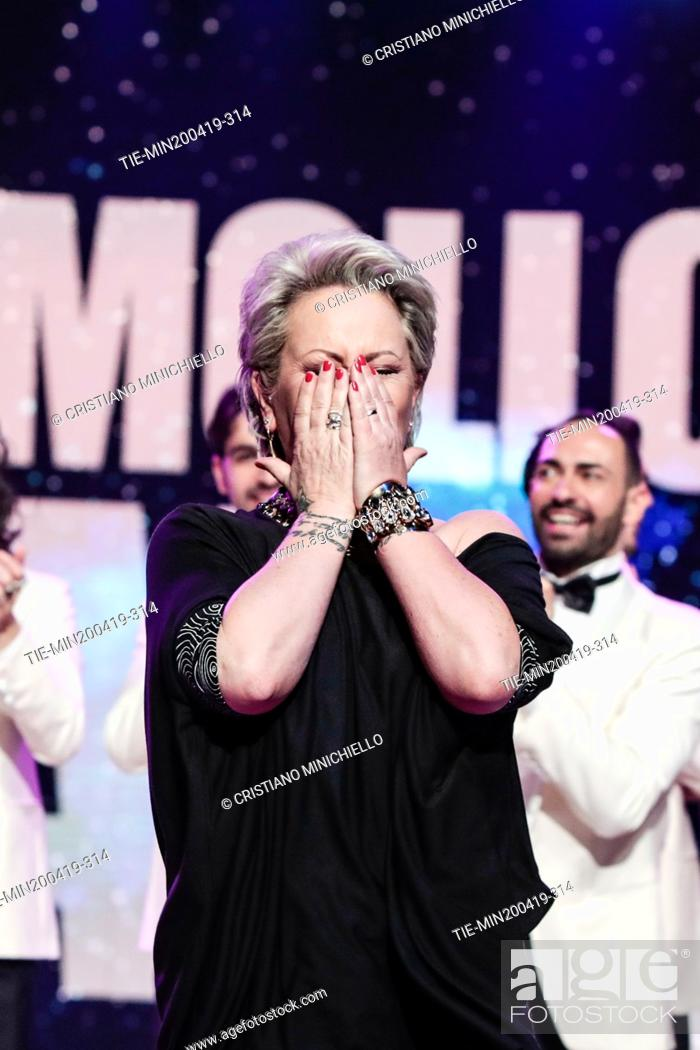 Imagen: Carolyn Smith during the performance at the tv show Ballando con le stelle (Dancing with the stars) Rome, ITALY-20-04-2019.