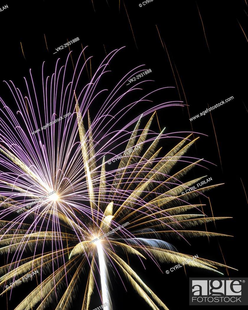 Stock Photo: Celebrating The Fourth of july.
