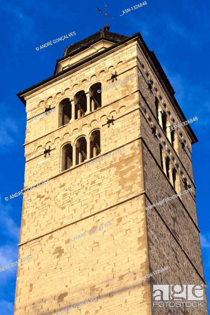 Stock Photo: Tower, Trento, Italy.