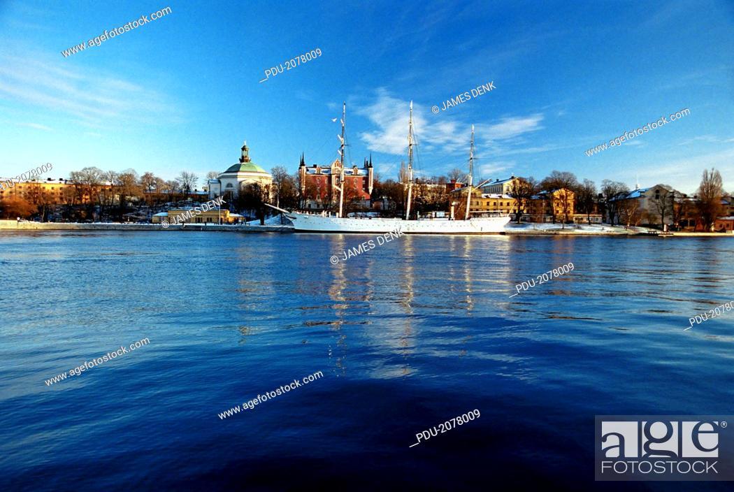 Stock Photo: Sweden, Stockholm, Blasieholmen.