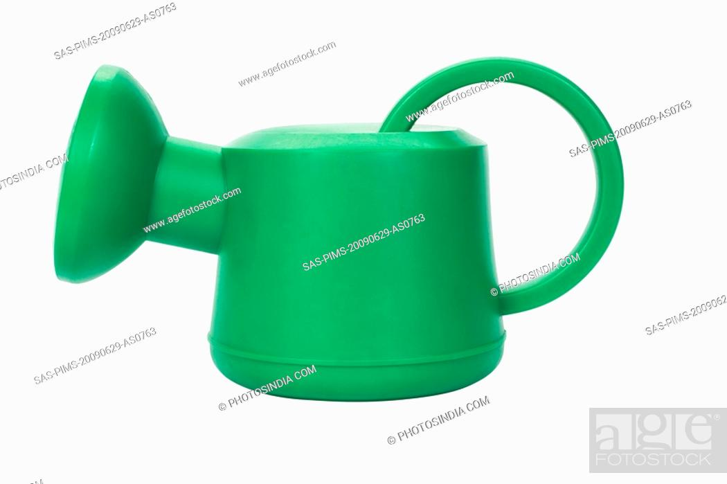 Stock Photo: Close-up of a watering can.
