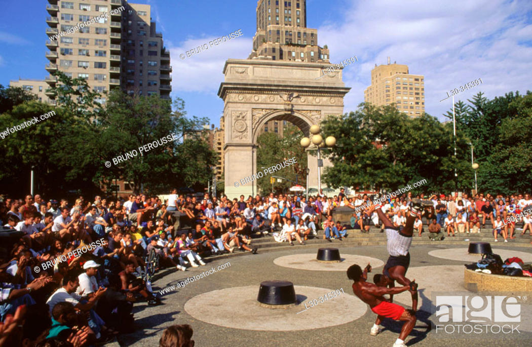 Stock Photo: Washington square. New York city. USA.