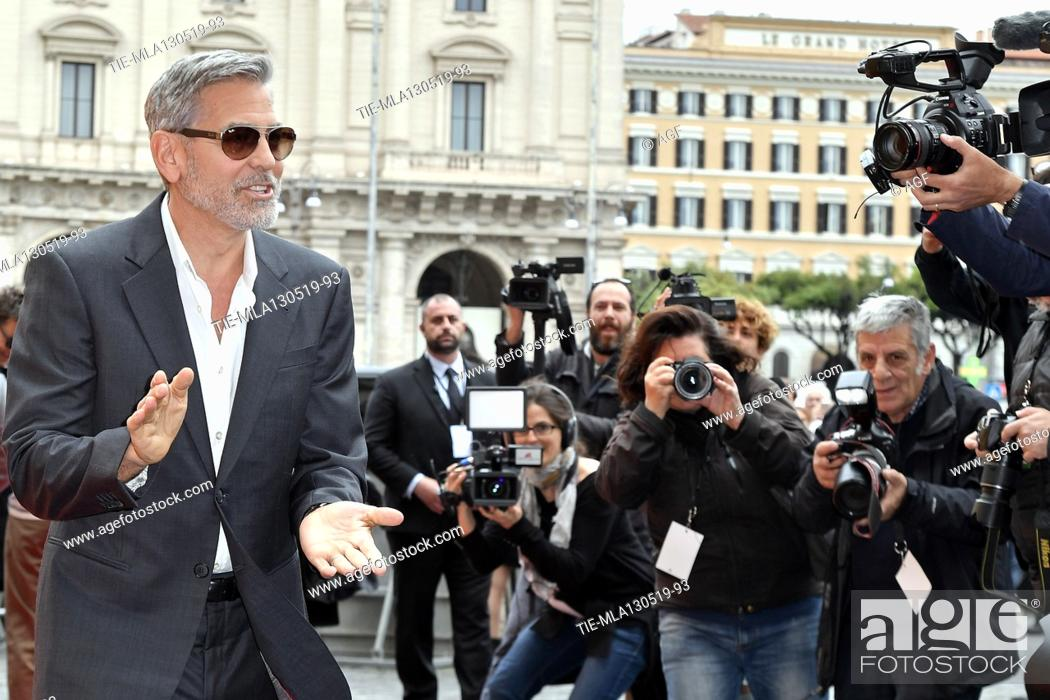 Imagen: George Clooney during 'Catch-22' TV show photocall, Rome, Italy - 13 May 2019.
