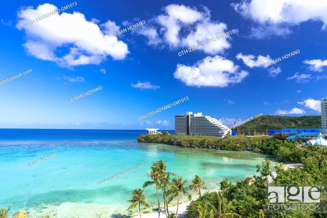 Stock Photo: Tumon Beach, Guam, USA.