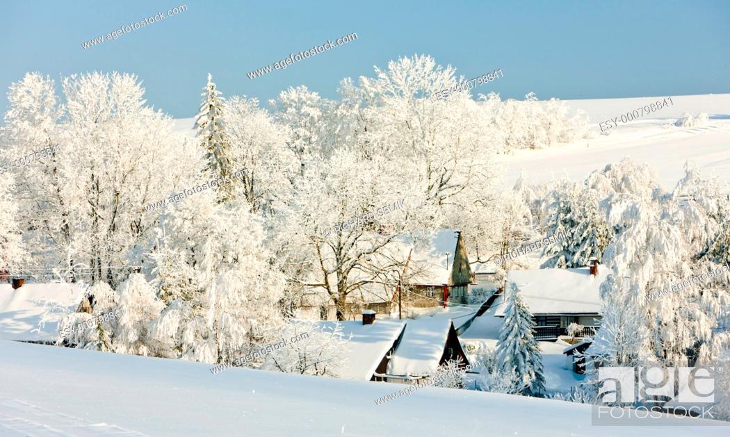Stock Photo: Dolni Hedec, Czech Republic.