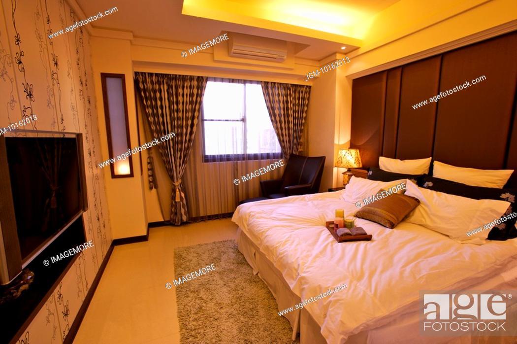 Stock Photo: Interior Design - Bedroom.