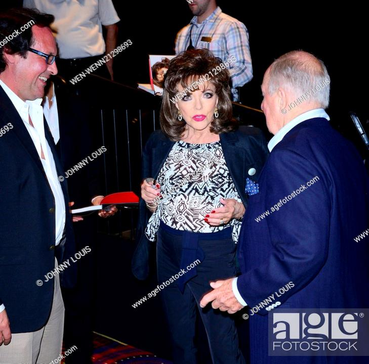 Joan Collins appears at Seminole Casino Coconut Creek to