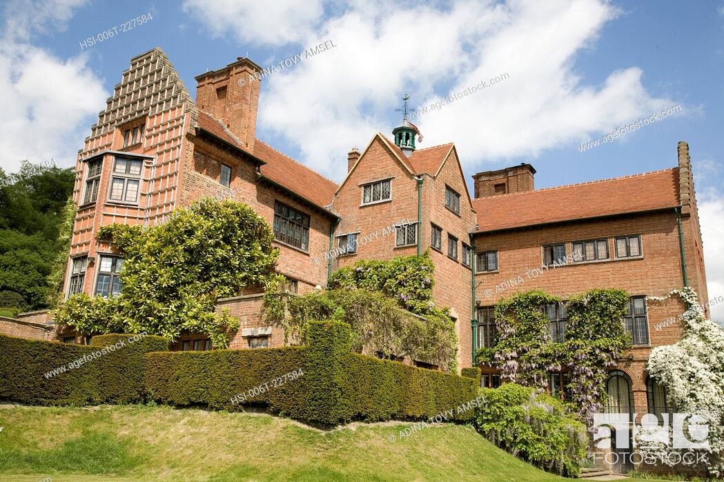 Stock Photo: Chartwell House and Gardens. Kent. England.