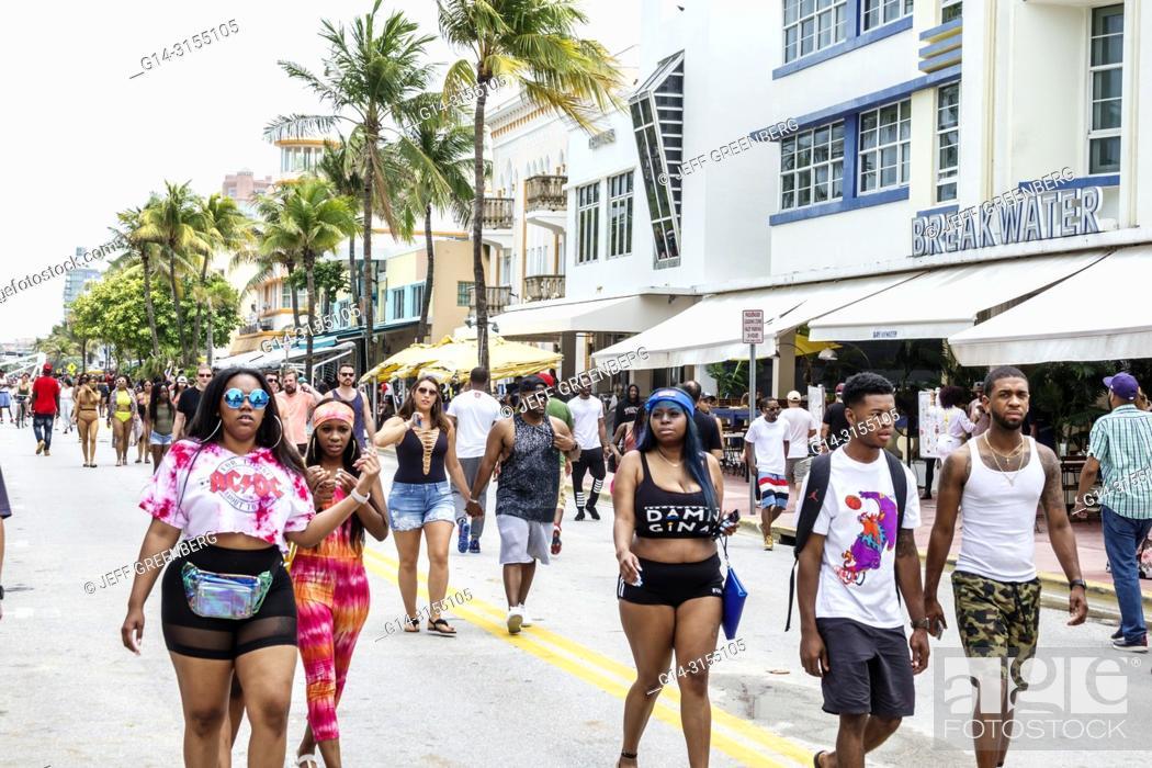 Florida Miami Beach Ocean Drive