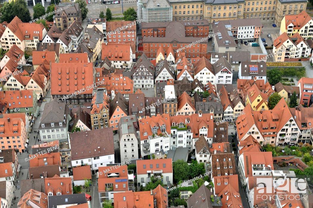 Stock Photo: Germany, Bade Wurtemberg, Ulm, Albert Einstein' s birthplace, Fischerviertel, fishermen and tanners district.