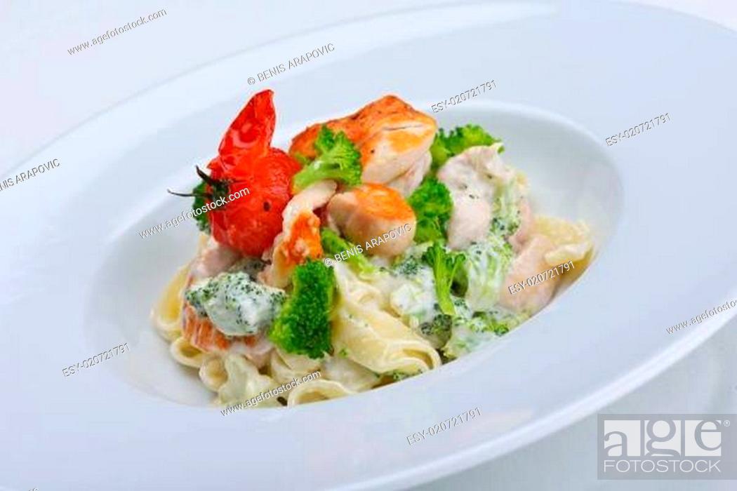 Stock Photo: macaroni.